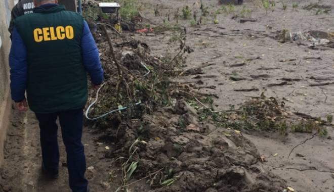 Foto: CELCO va dona materiale de construcţii pentru sinistraţii din Corbu şi Luminiţa