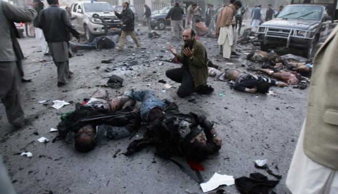 Foto: Cel puţin 10 răniţi în explozia unei bombe, în Pakistan