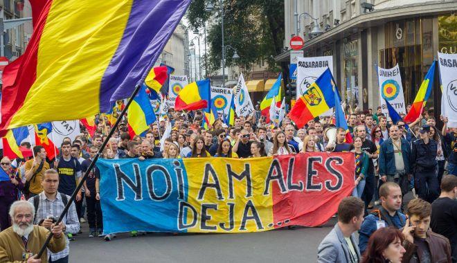 Foto: Constanţa! Zeci de unionişti vor pleca spre Moldova, la Marşul Centenar