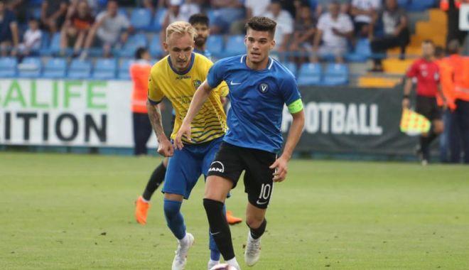 Foto: FC Viitorul înfruntă pe Dinamo Bucureşti, la Ovidiu