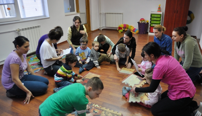Foto: Copiii cu autism, actori  pe