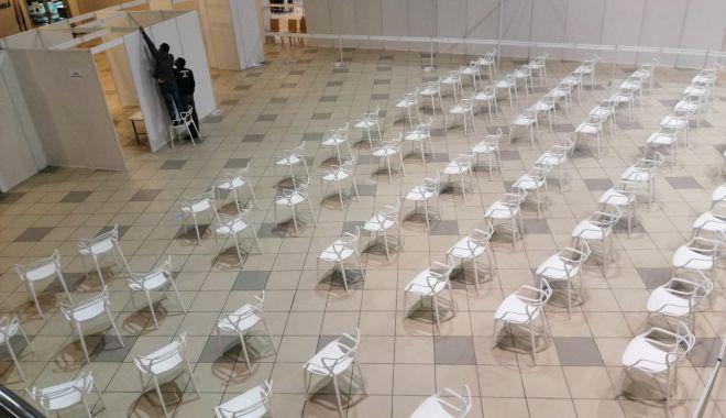 GALERIE FOTO. Pavilionul Expoziţional, cel mai mare centru de vaccinare din judeţul Constanţa. 34 de cabinet deschise - centruvaccinare2-1616492822.jpg
