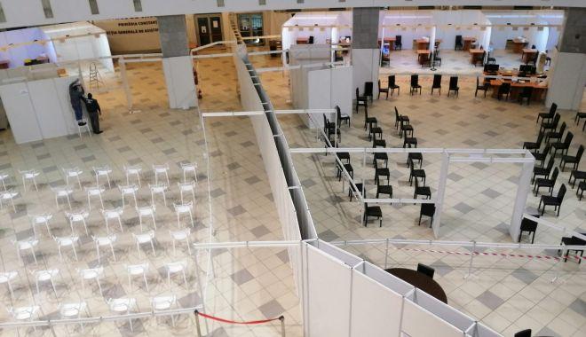 GALERIE FOTO. Pavilionul Expoziţional, cel mai mare centru de vaccinare din judeţul Constanţa. 34 de cabinet deschise - centruvaccinare3-1616492851.jpg