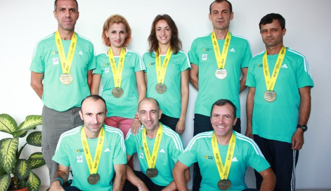 Foto: Ce performanţe au avut veteranii constănţeni la Maratonul Internaţional Bucureşti