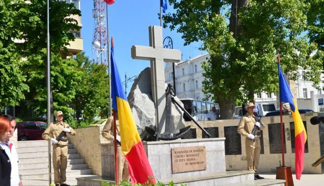 Foto: Ceremonial religios la Crucea Marinarilor