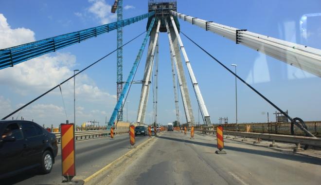 Foto: Ce rute aveţi la dispoziţie  pentru a evita aglomeraţia  din zona podului Agigea