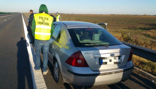 Foto: GALERIE FOTO / Cetățean bulgar, arestat la Constanţa, pentru trafic de migranţi