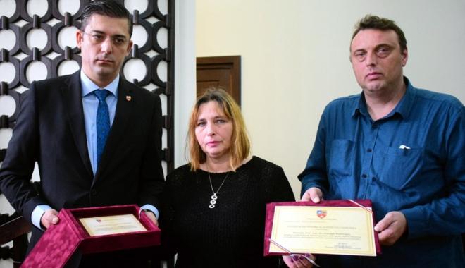 Foto: Profesorul Gheorghe Dumitraşcu, cetăţean de onoare post-mortem