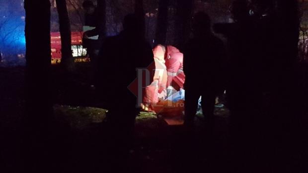 Foto: TRAGEDIE! Un tânăr de 18 ani şi-a luat viaţa. Băiatul s-a spânzurat în pădure