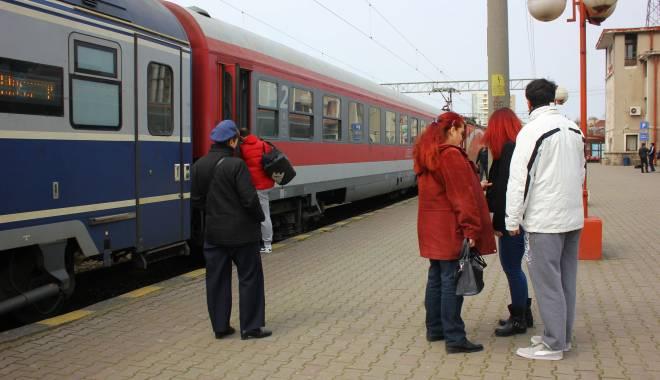 Foto: CFR Călători. Se modifică mersul trenurilor pe ruta Mangalia Constanța