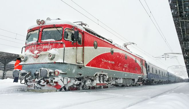 Foto: Se revine la graficele normale de circulație a trenurilor
