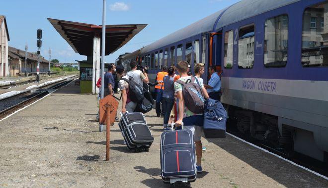 Foto: CFR suplimentează numărul trenurilor de Paşte şi 1 Mai