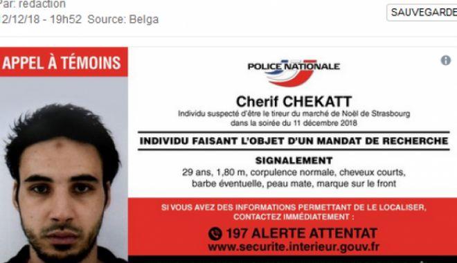Foto: Autorul atacului armat de la Strasbourg a fost UCIS într-un schimb de focuri
