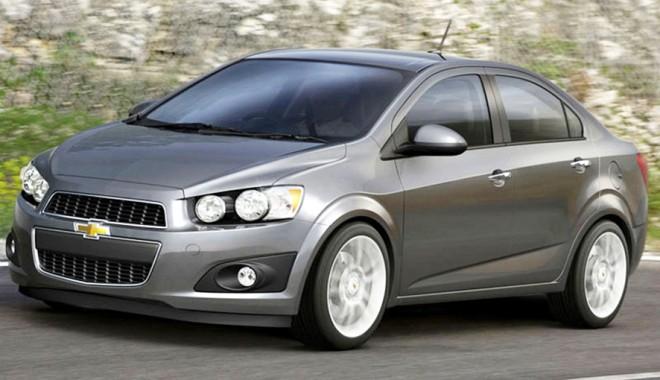 Foto: Chevrolet Aveo sedan şi Captiva au primit cinci stele în cadrul testelor de siguranţă