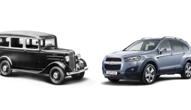 Foto: Chevrolet sărbătoreşte 100 de ani!