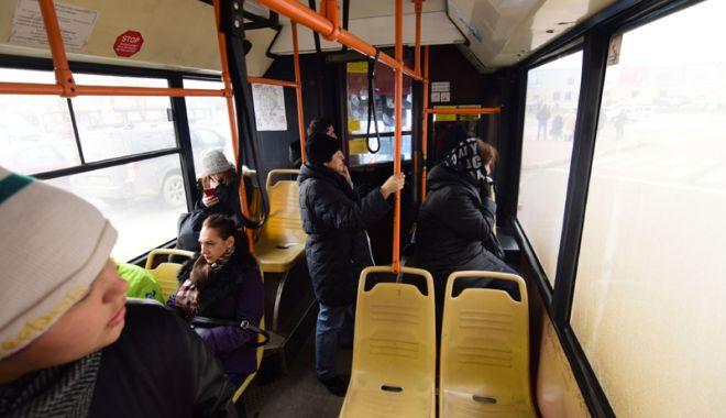 Foto: Chiar dacă RATC are autobuze noi, biletele nu se scumpesc!
