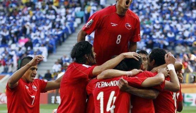 Foto: FOTBAL / Chile a învins Croaţia şi va juca finala turneului China Cup