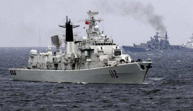 Foto: Nave militare chineze au intrat în apele teritoriale ale Japoniei