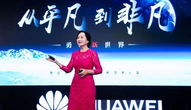 Foto: China cere Canadei eliberarea imediată  a directorului financiar al Huawei