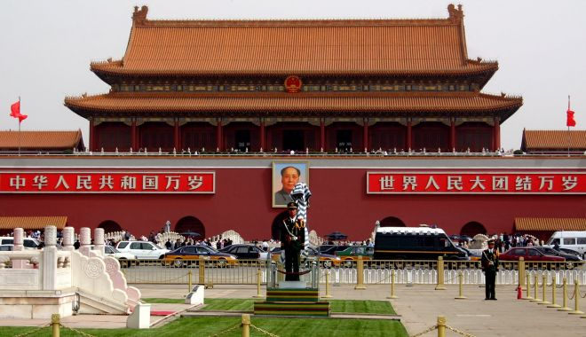 Foto: China acuză Occidentul de subversiune prin intermediul creştinismului