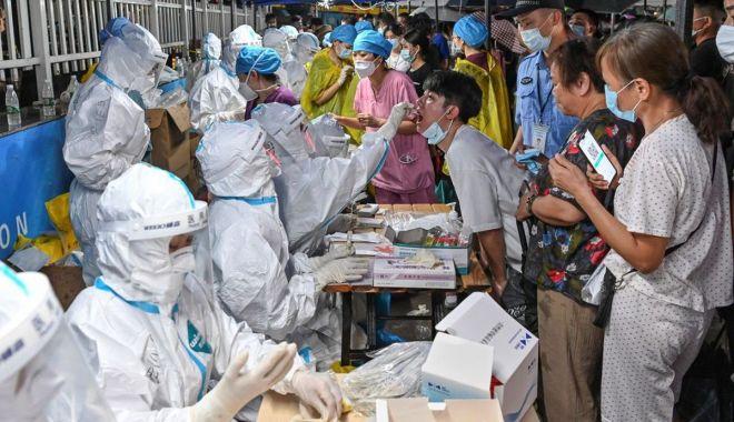 China a anunţat cel mai mare număr de cazuri zilnice de COVID-19 - chinaaanuntat-1626781933.jpg