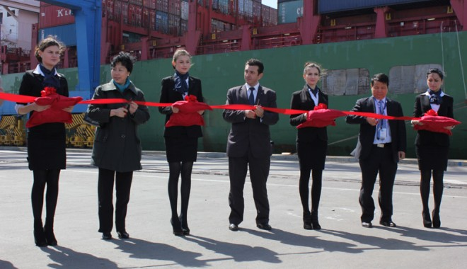 China Shipping Container Lines a sărbătorit upgrade-ul serviciului ABX - chinashipping4-1333475291.jpg