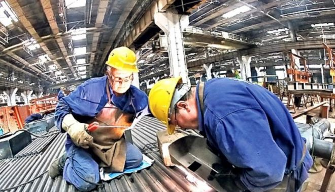 Foto: Cifra de afaceri din industria românească a crescut cu aproape 13%