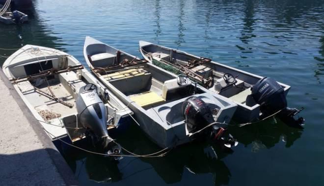 Foto: Cinci ambarcaţiuni fără brevet, depistate pe Marea Neagră