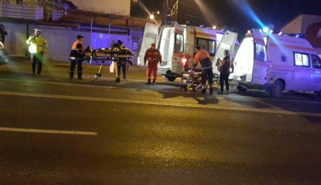 Foto: TRAGEDIA DE PE ŞOSEAUA MANGALIEI. Veşti proaste! Care e starea victimelor din accident