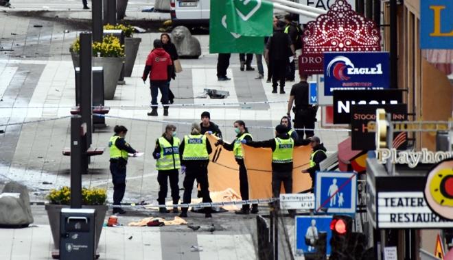 Foto: Cine este bărbatul arestat  după atacul terorist de la Stockholm