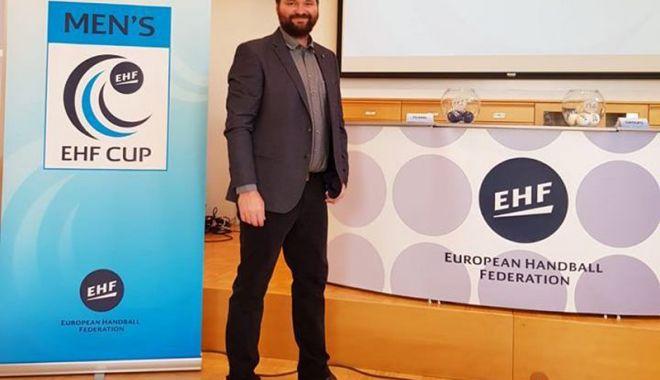 """Foto: A scăpat de """"panzere""""! Ce adversare  are HCDS în grupele Cupei EHF"""