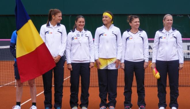 Foto: Cine va juca pentru România în meciul de Fed Cup cu Marea Britanie