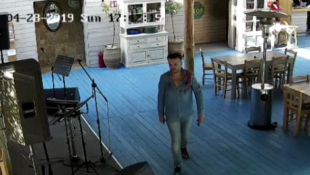 Foto: VIDEO. ULTIMELE IMAGINI cu Răzvan Ciobanu ÎN VIAŢĂ, la o terasă din Mamaia
