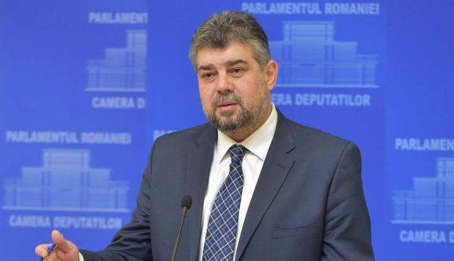 Foto: Liderul PSD Marcel Ciolacu propune comasarea alegerilor locale cu cele parlamentare