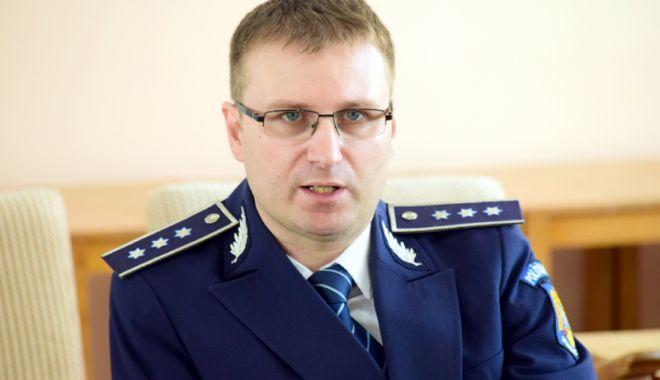Foto: Comisarul șef Ciprian Sobaru, noul adjunct al Poliției Constanța