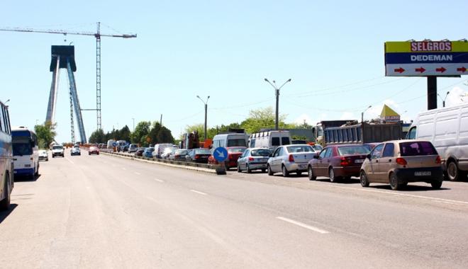 Foto: Circ pe litoral! Restricţiile de pe podul de la Agigea, până pe 1 august