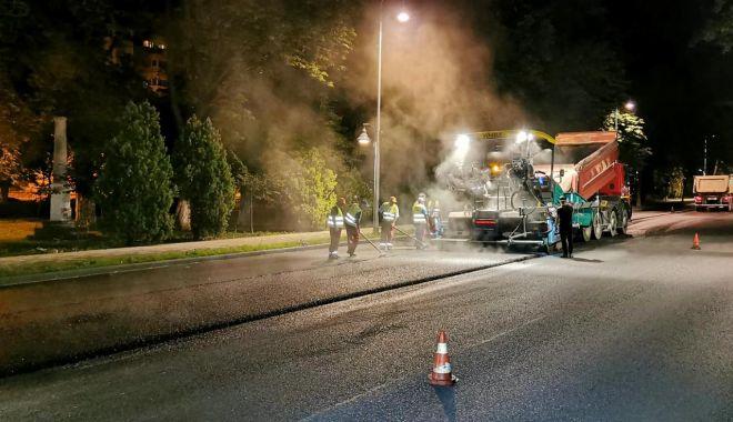 Circulație restricționată, la noapte, pe bulevardul Tomis - circulatierestrictionata1-1594373780.jpg