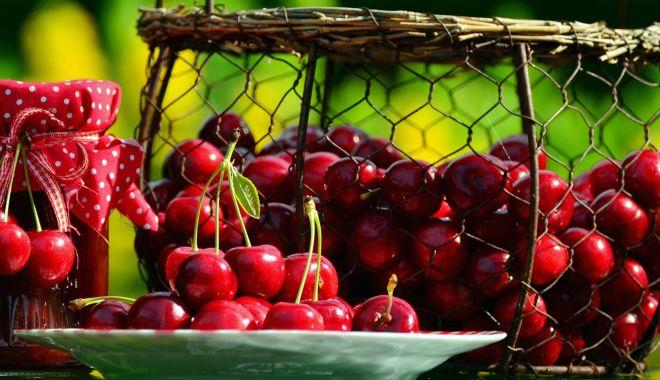 Foto: Cireșele, o excelentă sursă de sănătate