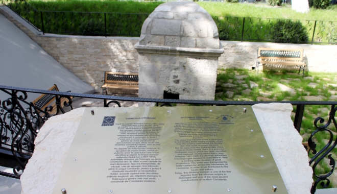 Foto: A fost reabilitat� ci�meaua otoman� din Constan�a. RAJA va renova �i toate f�nt�nile arteziene din ora�