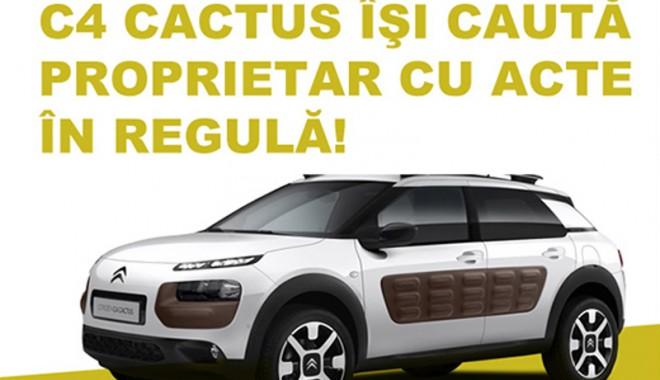 Foto: Noul Citroen C4 Cactus poate fi admirat la Rădăcini Motors Constanţa