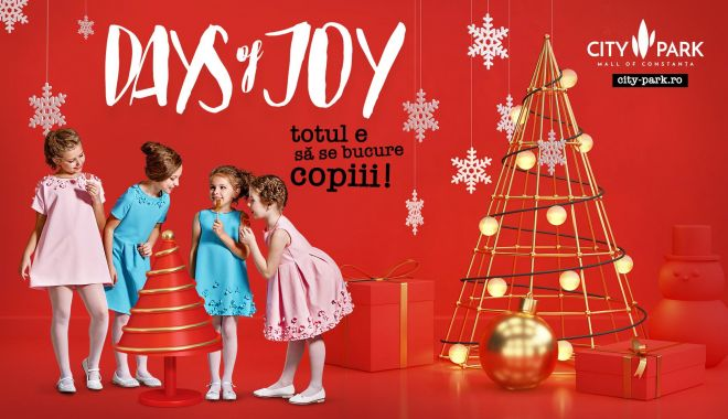 Foto: Tărâm de basm cu spiriduși, cadouri și Moș Crăciun la City Park Mall