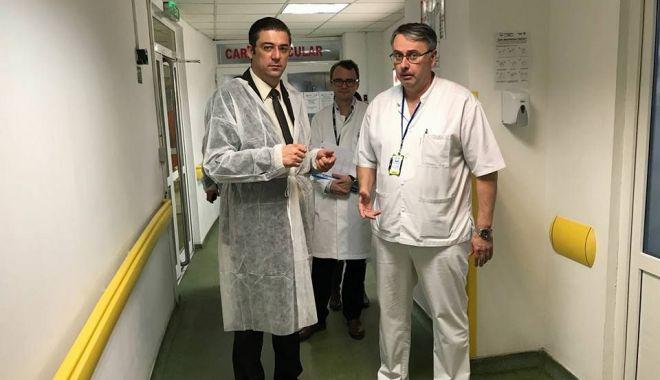Corpul de Control al CJC, inspecție la Spitalul Județean Constanța