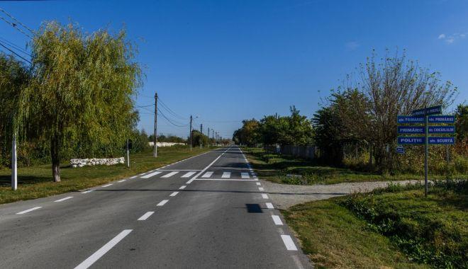 Foto: Drumul județean Medgidia - Tortoman – Siliștea, reabilitat în 12 luni de CJC