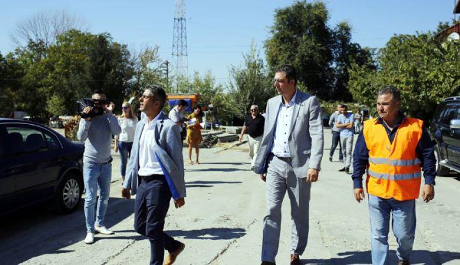 Foto: Drumul județean Medgidia - Tortoman - Siliștea, reabilitat în 12 luni de CJC