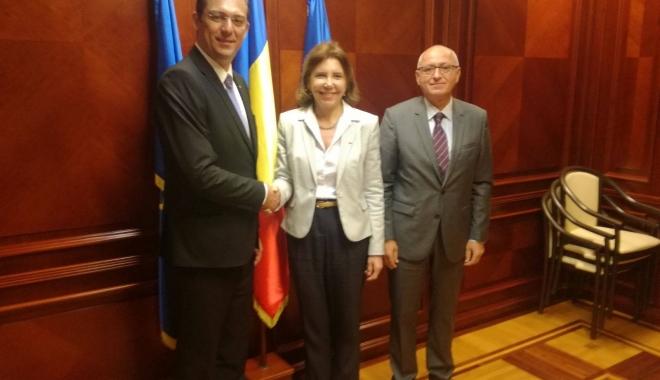Foto: CJC, vizitat de ambasadorul Franţei în România