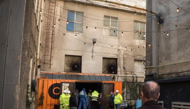 Foto: Raport final #Colectiv / Flăcările s-au propagat mai repede decât se credea
