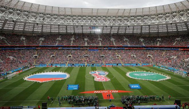 Foto: CM 2018. A început Cupa Mondială 2018. Festivitate de deschidere grandioasă