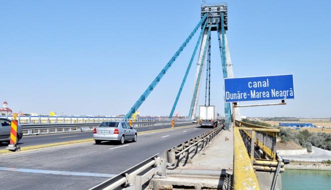 Foto: Traficul pe podul Agigea, închis până la începutul iernii!