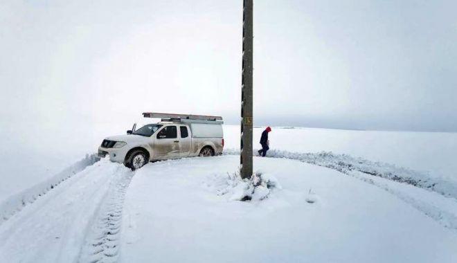 Foto: COD PORTOCALIU de VISCOL, în județul Constanța. Mai multe localități din județ au rămas fără apă rece