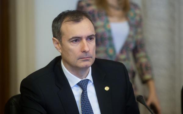 Foto: Coldea, la comisia SRI: Am venit din respect pentru Parlamentul României